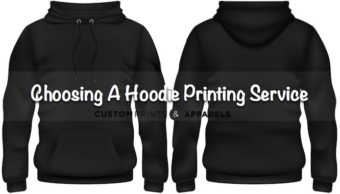 6 Factors to Consider While Choosing a Hoodie Printing Service