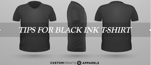 Tips For Black Ink T-Shirt Printing