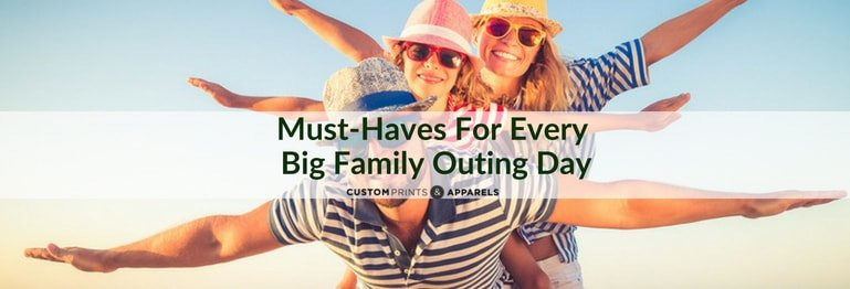 Must-Haves for Every Big Family Outing Day