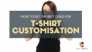customise t shirt