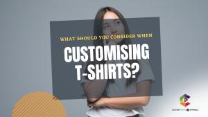 customise t-shirt
